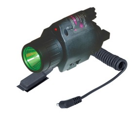Laser/light 3w Led 250l Gr/5mw Las W/mnt