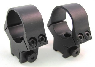 Airgun 11mm Fixed Med Ring W/recoil Pin