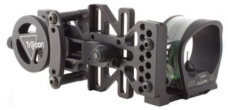 Accupin Bow Sight Grn Accudial Rh Blk