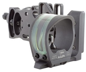 Accupin Bow Sight Grn Accudial Lh Blk
