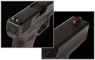 Handgun Fiber Optic Set - Glock Low