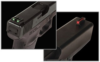 Handgun Fiber Optic Set - Glock High